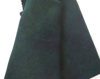 Dorr Mill Wool Check/Hand Dyed Fabric