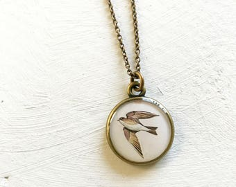 Swallow Necklace, Symbol of Motherhood, Family, Symbolic Necklace, Graduation Gift