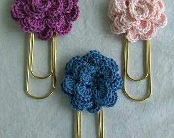 Flower Bookmark, Set of 3