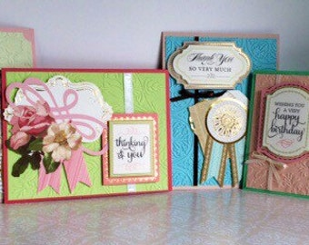 Greeting Cards - Set of Four