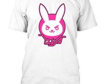 Overwatch D'Va Bunny Inspired T-Shirt