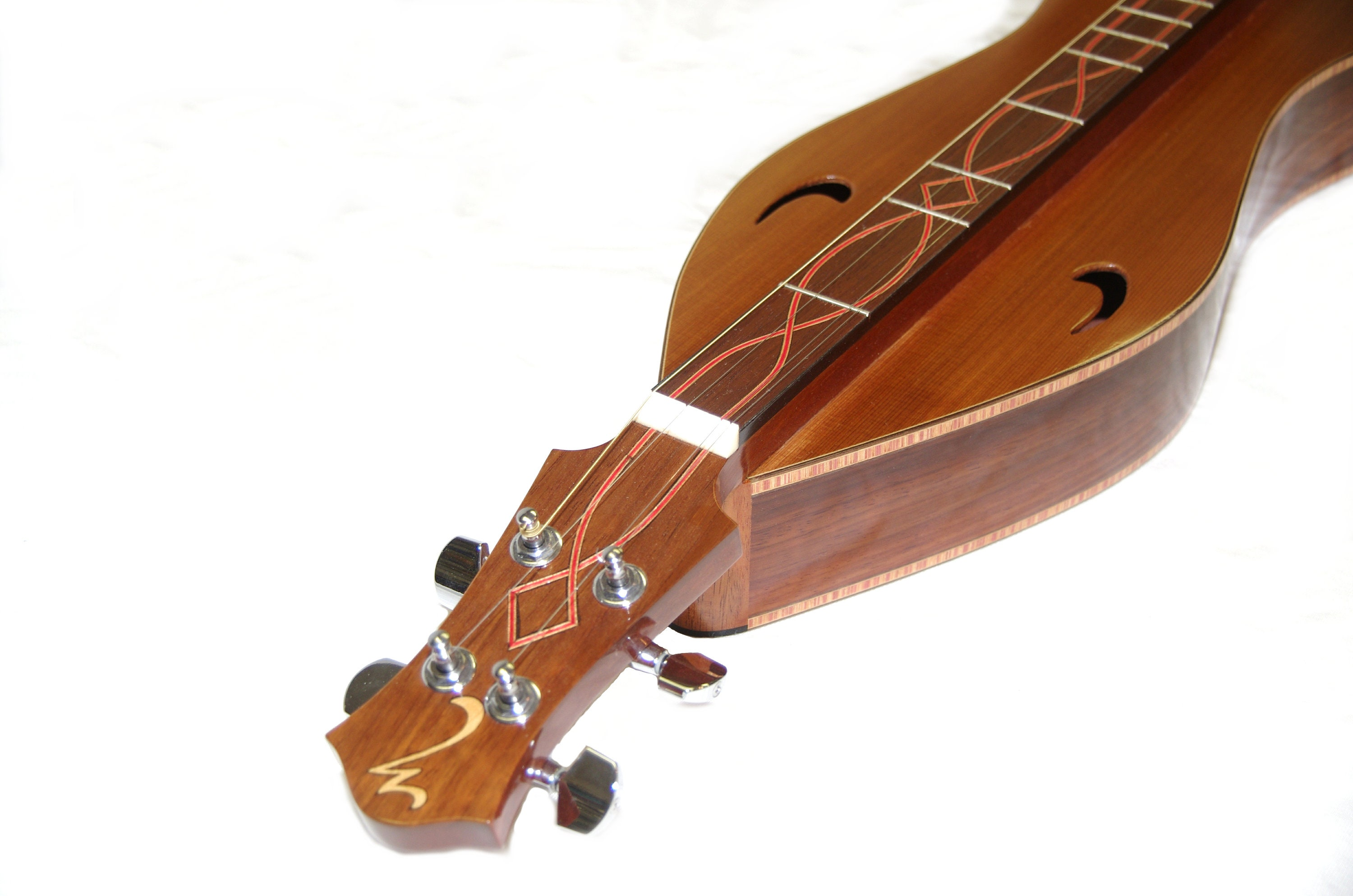 Hand Made All Solid Mountain Dulcimer