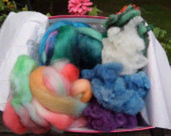 Fiber Box, Spinning Box, Monthly Club, 12 Month Subscription