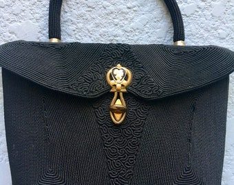WWII Era Corded Handbag