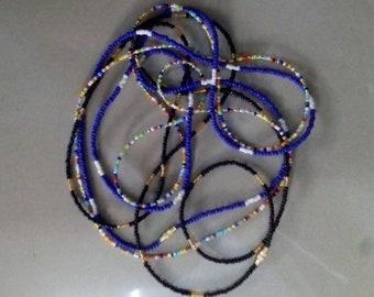 Waist chains, Handmade beads, African waist beads