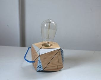 Geometric Lamp Etsy
