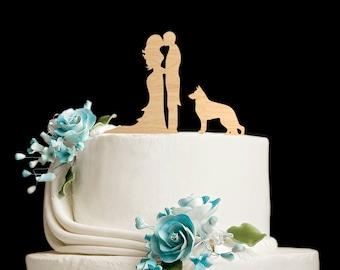 German shepherd wedding cake topper,german shepherd cake,german shepherd cake topper,german shepherd wedding,German Shepherd topper,5902017