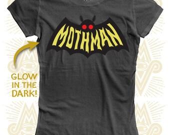 Mothman - Glow in the Dark (Ladies)