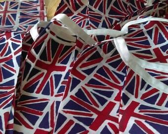 Union Jack flag bunting !!  Royal Wedding, tea party