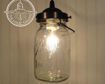 Ceiling Fan Light Kit Vintage Canning Jar Mason Jar