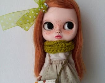"""Customized Jecci Five doll """"Red Hair"""""""