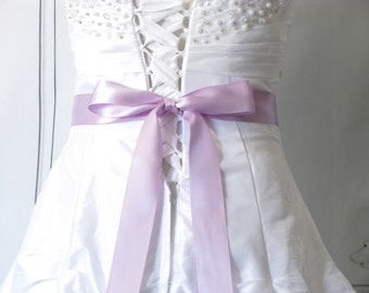 Purple Bridesmaid Sash