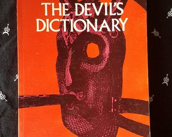 Vintage Occult Book: The Devil's Dictionary