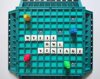 Vintage Milton Bradley Last Word Game 1985