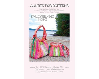 Bailey Island HOBO by Aunties Two Patterns - Paper Printed Pattern