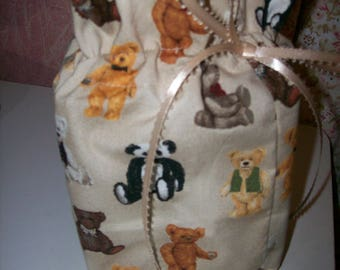 Teddy Bear Tissue Box/Toilet Paper Cover