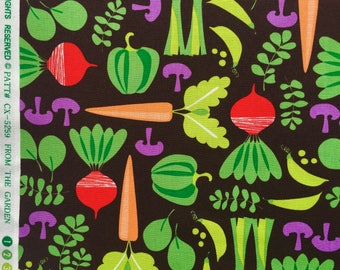 SALE : From the Garden veggies Michael Miller fabric FQ or more