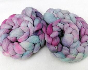 Merino Wool Roving  - Hand Dyed Fiber  5.3 oz.  Nr. 100