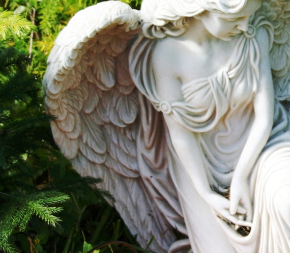 """Guardian Angel (5"""" x 7"""" photographic greeting card - blank inside/with envelope)"""