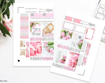 Photographic Mini Kit | Little Things | Printable Planner Stickers | Erin Condren Life Planner