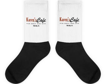 Karen's Cafe Socks