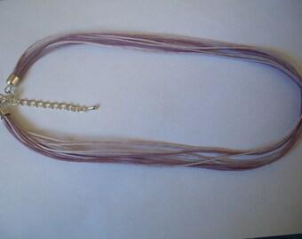 Purple cotton cord