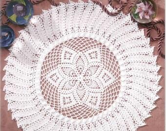 WONDERFUL DOILIES; crochet pattern; doily; crochet rug; thread doilies; .pdf; Kristoffersen; home decor; DIY; victorian; thread; Splendid