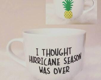 Pineapple Express Tribute Mug - Hurricane Season