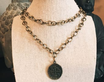 Vintage coin chain