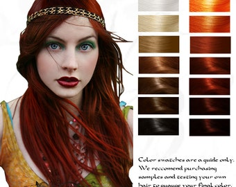 Enyo: War Goddess Ruby Red Herbal Hair Color 100G