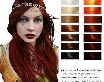 Enyo: War Goddess Ruby Red Herbal Hair Color 100G