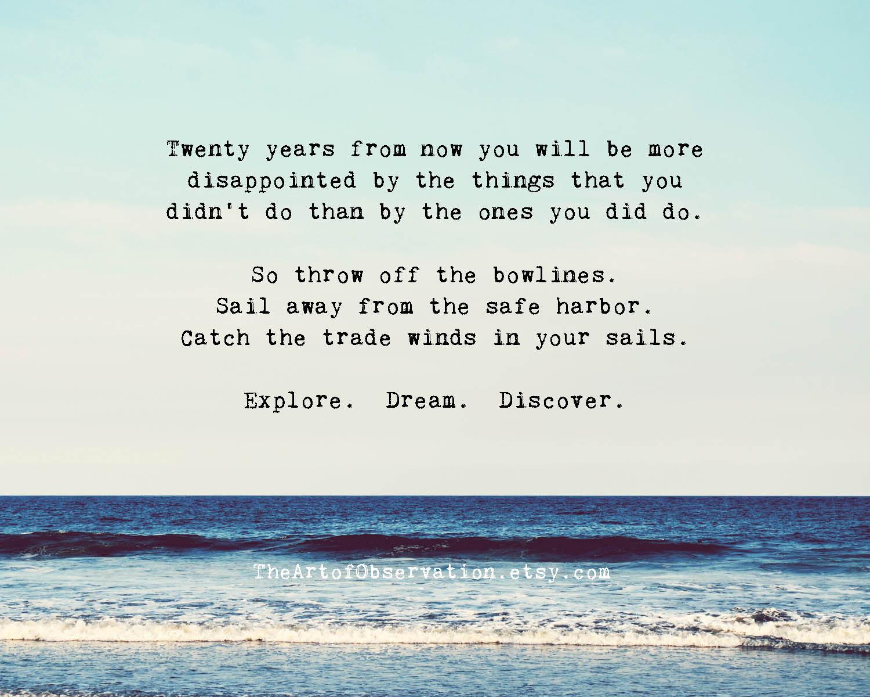 Life Quotes Inspiration Life Quotes Inspirational Gift Explore Dream Discover.
