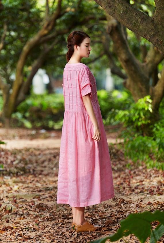 Ropa Vestido Largo / plisado vestido de cóctel / vestido