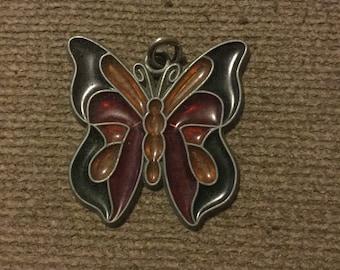 Vintage Butterfly Sun Catcher