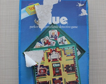 Travel Clue Board Game Parker Bros 1990