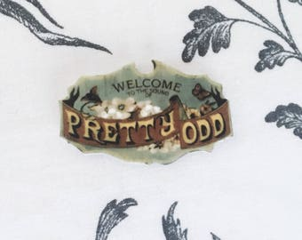Pretty. Odd. (Panic! At The Disco)  Pin