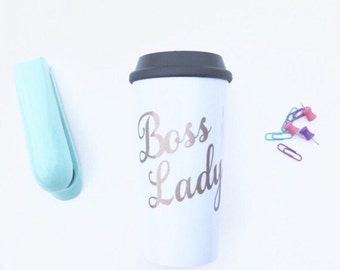 Boss Lady Mug - Perfect Gift for Bosses Day