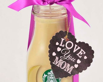 Mom Gift Mother's Day Gift for Mom Mother Gift Starbucks Candle Gift Mother's Day Gift from Daughter Coffee Decor Coffee Lover Gift for Her