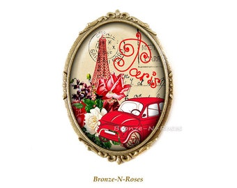 PIN * retro Paris * accessory vintage Eiffel Tower