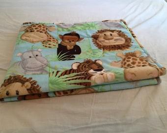 Jungle Babies Baby Blanket.