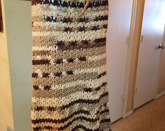 Crochet handmade maxi skirt
