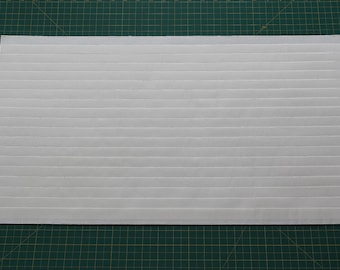"Size 3/4""(12""W x 50""L) Mr. Pleater Board, pleats fabric, fast and easy."