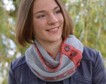 SERA, Cowl / Scarf knitting pattern PDF
