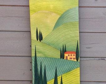 Tuscan Hillside PDF Quilt Pattern