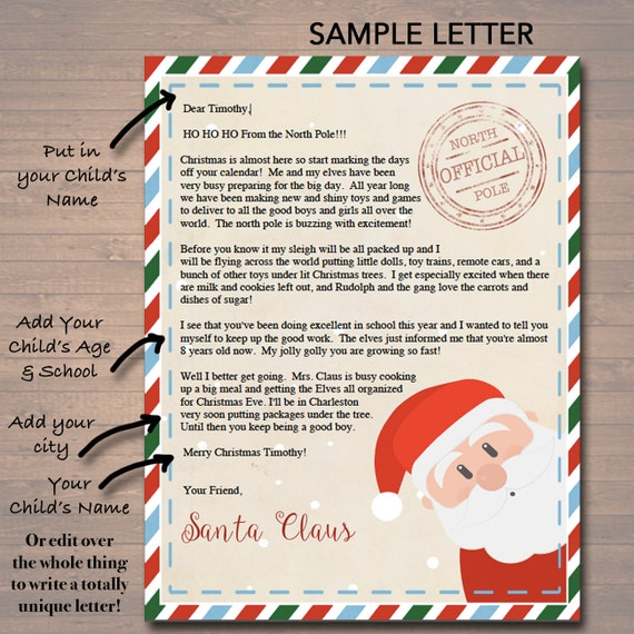 20 awesome letter from santa milk and cookies pics complete letter editable nice naughty certificates santa letter christmas spiritdancerdesigns Image collections