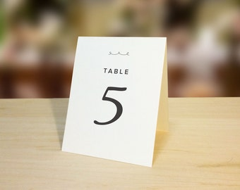 items similar to table number placecard on etsy