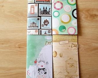 Travellers Notebooks - Plain Junk Journal Style