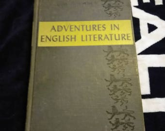 Vintage Adventures in English Literature Book