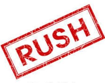 RUSH MY ORDER!  Rush Processing for BarnLove Orders