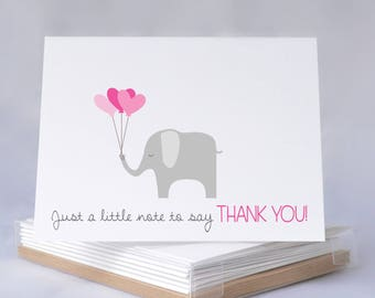 Baby Thank You Cards | Thank You Cards | Baby Shower | Baby Shower Thanks | Shower Thank You | Baby Girl Thank You